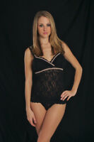 Hanky Panky Signature Lace Black Sheer Camisole 3360