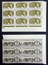 GB QEII 1965 700th Anniv Simon de Montford's Parliament SG663-664 MNH. (Ref:A3w)
