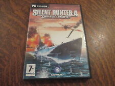 pc dvd-rom silent hunter 4 wolves of the pacific