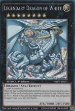1x Legendary Dragon of White - WSUP-EN051 - Prismatic Secret Rare - 1st Edition