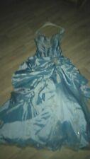Verlobungs/Ball/Abendkleid in blau  Gr 36/38