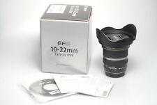 Canon EF-S 3,5-4,5/10-22mm USM