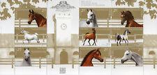 Poland 2017 MNH Janow Podlaski Stud 9v M/S Horses Animals Stamps