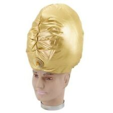 Genie Turban Gold Aladdin Arabian Bollywood Sultan Fancy Dress P2085