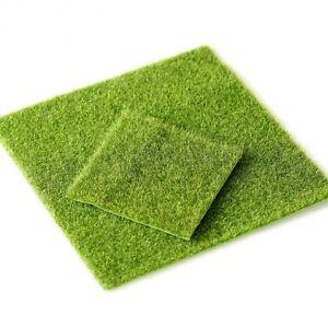 1 Piece Artificial Grass Lawn Turf Square Aquarium Home Decorations 15cm 30cm