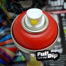 Red Matte Full Dip Liquid Rubber Aerosol Removable Spray Paint like Plasti Dip