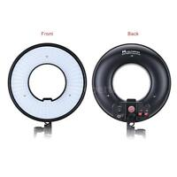 LED Ring Light Photo/Video Studio Dimmable Continuous Lighting Warm White Color
