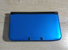 Blue Nintendo 3DS XL with Charger and Carrying Case