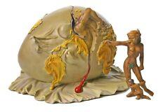 Dali Geopolitical Child Grande Watches Birth Of New Human Statue Set Surrealism