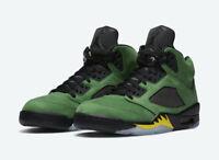 In Hand Brand New Nike Air Jordan 5 Oregon Ducks CK6631-307 FREE SHIPPING !!!