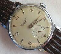 Longines Ref. 8903 2 mens wristwatch steel case load manual cal. 12.68Z