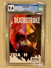 Deathstroke #1 - Sorrentino Variant Cover CGC 9.4 - DC 12/14
