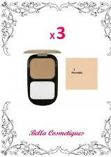 BULK 3 X MAX FACTOR FACEFINITY COMPACT FOUNDATION 01 PORCELAIN makeup