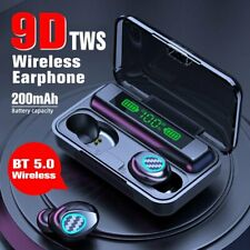New listing Bluetooth 5.1 Earphone 9D Stereo Wireless Headset Tws Touch Control Earbuds
