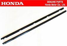 HONDA GENUINE INTEGRA DC5 Type-R RSX R&L Front Belt Door Window Molding Set