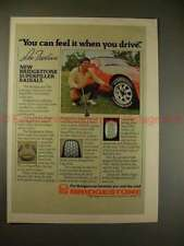 1981 Bridgestone Superfiller Tire Ad w/ Lee Trevino!!
