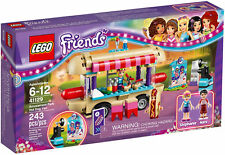 41129 AMUSEMENT PARK HOTDOG STAND lego friends set NEW legos STEPHANIE NATE