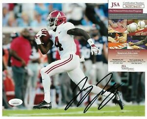 Denver Broncos ~ Jerry Jeudy ~ Alabama Crimson Tide 8x10 Football Photo JSA COA