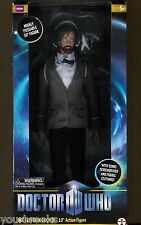 "BBC DR WHO 11th DOCTOR BEARD MATT SMITH 10"" ACTION FIGURE SONIC SCREWDRIVER"