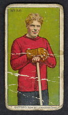 1911 C60 IMPERIAL TOBACCO LACROSSE SERIES 56 T GIFFORD NEW WESTMINSTER LGVG CARD