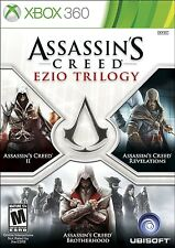 NEW Assassin's Creed Ezio Trilogy Edition Microsoft Xbox 360 2013 NTSC