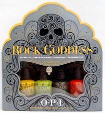 OPI HALLOWEEN ROCK GODDESS 5-Pc MINI SET~Yellopalooza/Stand/Rolling/Drummer *NIB