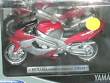 MOTO YAMAHA YZF 1000R THUNDER/ WELLY/MAISTO 1/18 ROUGE