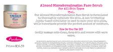 TimeBalm White Tea Almond Microdermabrasion Face Scrub By The Balm