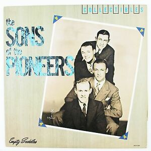 SONS OF THE PIONEERS Empty Saddles LP NM- NM-