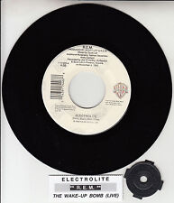 "R.E.M. (REM) Electrolite 7"" 45 rpm vinyl record + juke box title strip RARE!"