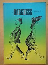 1954-IL BORGHESE-Direttore LEO LONGANESI-Anno V, Numero 21