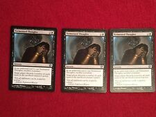 MTG X3 Tormented Thoughts Journey Into Nyx Magic the Gathering Black Cards Uncom