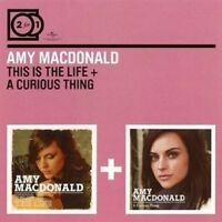 AMY MACDONALD - 2 FOR 1: THIS IS THE LIFE/A CURIOUS THING 2 CD NEUF