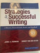 Strategies for Successful Writing : A Rhetoric, Research Guide, Reader and...