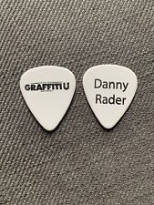 KEITH URBAN Danny Rader 2018/19 Graffiti U World Tour Issue Guitar Pick Plectrum