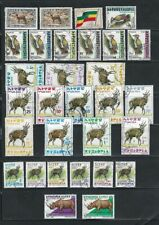 Ethiopia Definitive Lot, 1987 to 2005