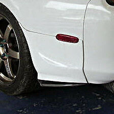 Toyota Supra Ridox Style Carbon Fiber Rear Bumper Spats for Body Kit v5