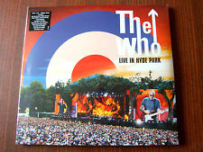 The Who-Live In Hyde Park 3x LP+DVD NEW-OVP 2015 Eagle Rock
