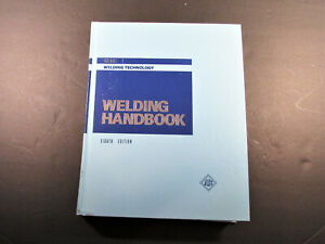 Welding Handbook Welding Technology,, Volume 1, 8th Edition, Used