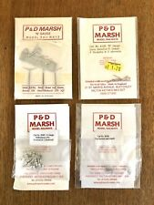 P & D Marsh Pdb485 20 Milk Churns Unpainted N Gauge Model Rail