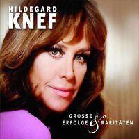 HILDEGARD KNEF -GROSSE ERFOLGE UND RARITÄTEN  CD 27 TRACKS SCHLAGER BEST OF NEU
