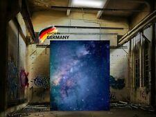 XXL LED Bild Leuchte Wandbild leuchtend Rahmen Leuchtbild Universum 89 x 134,5