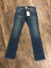 Lucky Brand Lola Straight Leg Regular Fit Jeans 2 26 NWT New Denim Mid Rise Slim