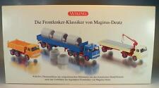 Wiking 1/87 Set Die Frontlenker Klassiker von Magirus Deutz OVP #990