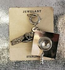 JEWELART Sterling Silver Graduation Cap and Diploma Charm