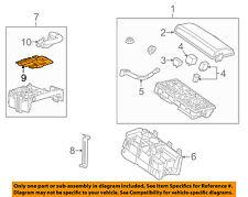 Cadillac GM OEM 12-16 SRX 3.6L-V6-Fuse 20815889