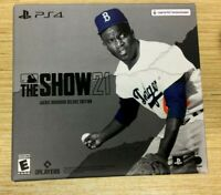 NEW MLB The Show 21 Jackie Robinson Deluxe Edition PLAYSTATION 4 PS4 + PS5 UPGRA