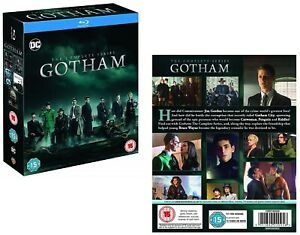 GOTHAM 1-5 (2014-2019) COMPLETE Before Batman TV Seasons Series - Eu RgB BLU-RAY