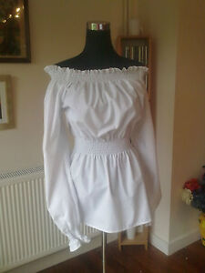 STEAM PUNK/GOTHIC/PIRATE BLOUSE ALL SIZES ALL COLOURS