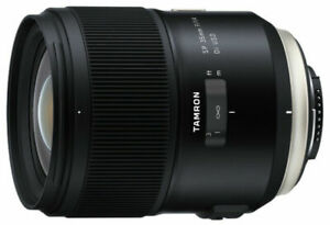 Tamron SP 35mm f/1.4 DI USD Wide Angle Camera Lens - Nikon F